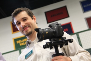 Jake Wattenphul and Canon 60D on Glidecam HD