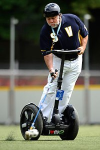 Steve Wozniak Apple co-founder segway polo