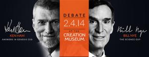 Ken Ham and Bill Nye debate tonight @ 7pm