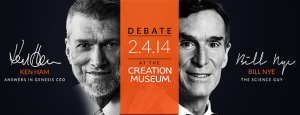 Ken Ham and Bill Nye debate tonight @ 7pm