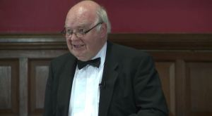 John Lennox debates for existence of God at Oxford