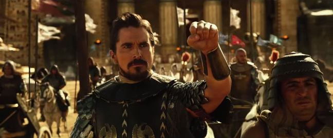 Exodus - Gods and Kings Trailer Christian Bale