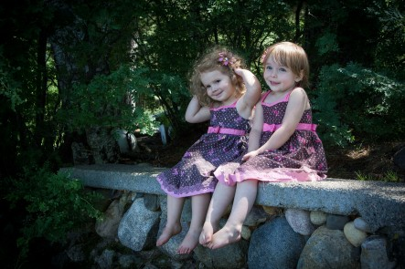 Cousin photo shoot at a family reunion