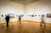 Using Slow Shutter Exposure to capture Photos at Art Gallery Landscape and Memory