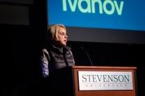 Kalina Ivanov a Hollywood Production Designer at Stevenson University