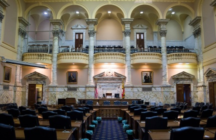 Maryland State Capitol Senate Chamber - Annapolis, MD