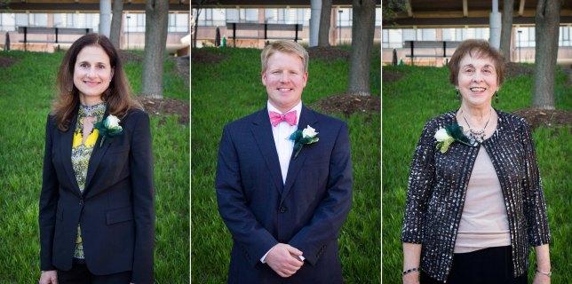 Portrait Photos of Award Winners