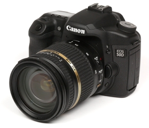 Canon Camera and tamron-17-50mm lens