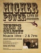 Concert Poster for Quartet