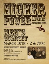 Concert Poster for Quartet
