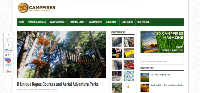 http://50campfires.com/11-unique-ropes-courses-and-aerial-adventure-parks/
